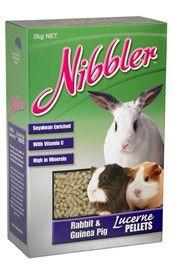 NIBBLER RABBIT GUINEA PIG PELLET 2KG