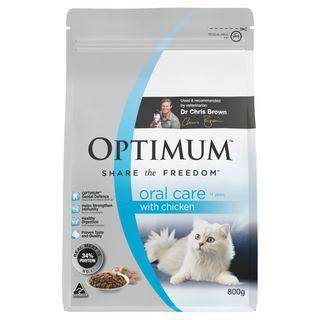 OPTIMUM CAT ADULT ORAL CARE 800G