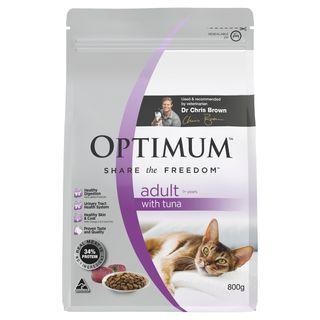 OPTIMUM CAT ADULT TUNA 800G