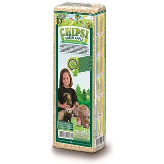 CHIPSI GREEN APPLE BEDDING 1KG