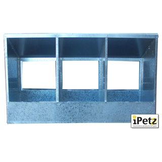 IPETZ TRIPLE CHICKEN LAYING BOXES