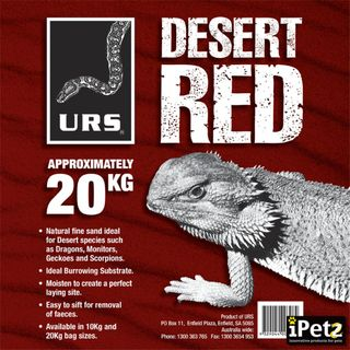 ULTIMATE REPTILE SUPPLIERS DESERT SAND 20KG