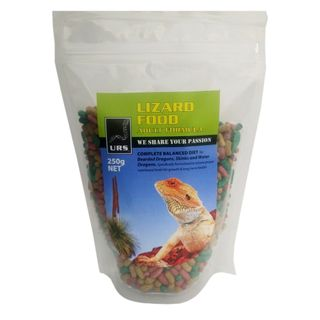 ULTIMATE REPTILE SUPPLIERS LIZARD FOOD ADULT 250G