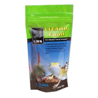 ULTIMATE REPTILE SUPPLIERS LIZARD FOOD JUVENILE 200G