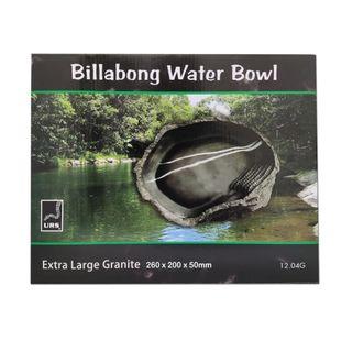 ULTIMATE REPTILE SUPPLIERS BILLABONG WATER BOWL GRANITE XLGE