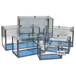 ULTIMATE REPTILE SUPPLIERS SET OF 6 FISHTANKS