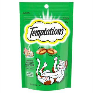 TEMPTATIONS SEAFOOD MEDLEY 85G