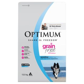 OPTIMUM DOG ADULT GF SENS FISH 13.5KG