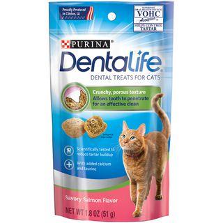 DENTALIFE CAT DENTAL TREAT SALMON 51G