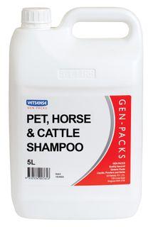 VETSENSE GEN-PACK HORSE SHAMPOO 5L