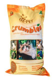 OZ PET CRUMBLES CAT & PET LITTER 7KG