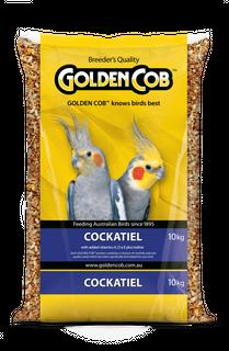 GOLDEN COB COCKATIEL MIX 10KG