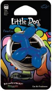 LITTLE DOG AIR FRESHENER NEW CAR SCENT BLUE