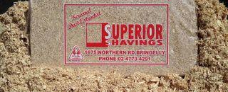 SHAVINGS SUPERIOR BALE NSW