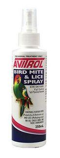 FIDOS AVITROL BIRD MITE LICE SPRAY 250ML
