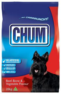 CHUM CRUNCHY BEEF BONE & VEGETABLE 20KG