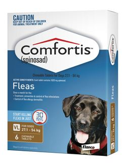 COMFORTIS 27.1-54KG BROWN 6PACK-1620MG