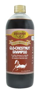 EQUINADE SHOWSILK SPOO GLO CHESTNT 1L