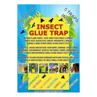 OUTDOOR COMPLETE INSECT GLUE TRAP 5PK