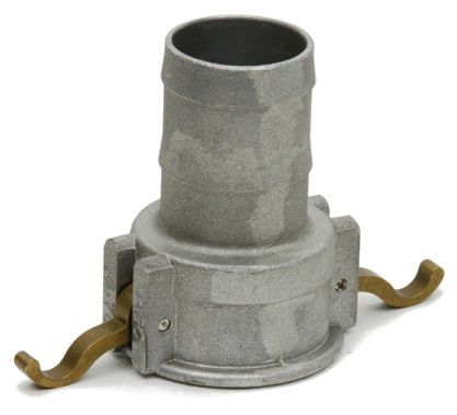 S/S Type C Hosetail Coupler