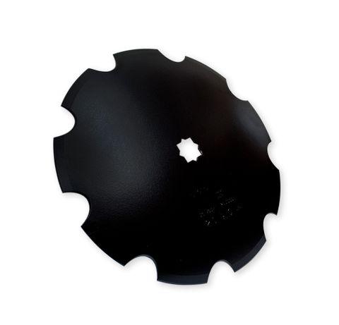 Scalloped Discs