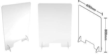 Screen Guard W600*H800mm 4.5mm thick Plexiglass