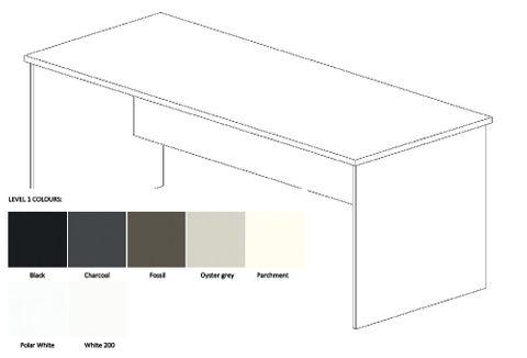 Bourke Desk Range Plain Colours