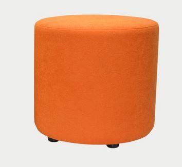 Gem Ottoman 450 Diam H450mm Ashcroft fabric