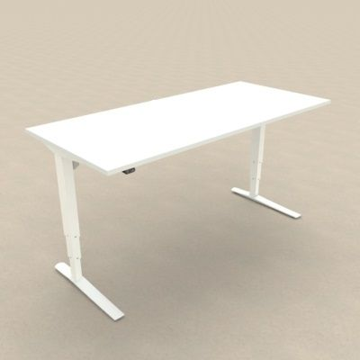 DM33 1400*800 Electric Desk, Adj Rail, L1 Sq