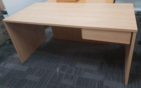 Harris Desk 1 Small Dr L1500xD750xH725mm SS