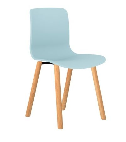 Acti Visitor chair 4leg Solid Beech Frame, 130kg