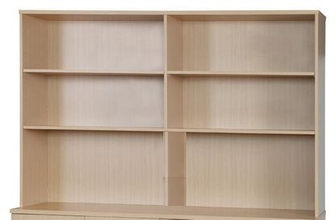 Bookcase Hutch Range Woodgrain Colours