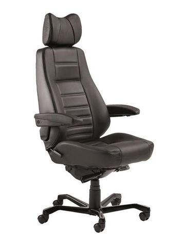 KAB Controller Chair 24/7 Fab: Havana Black 225kg