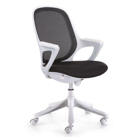 Aero Mesh Chair Arms Syncro White