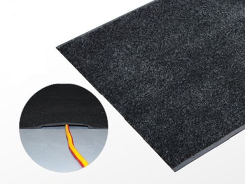 Cable safe mat L1000*500mm Charcoal