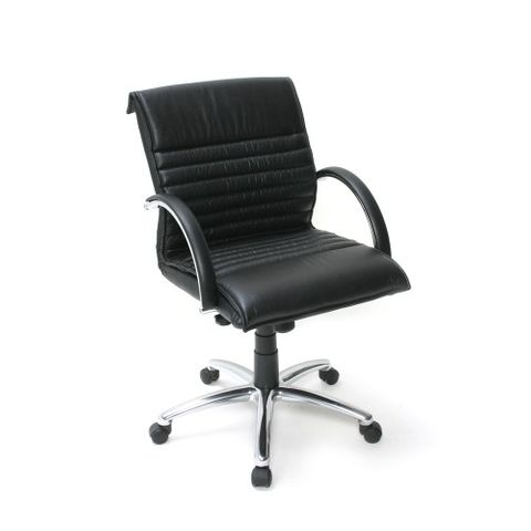 ACTIVE MB EXEC CHAIR  Blk LEATHER