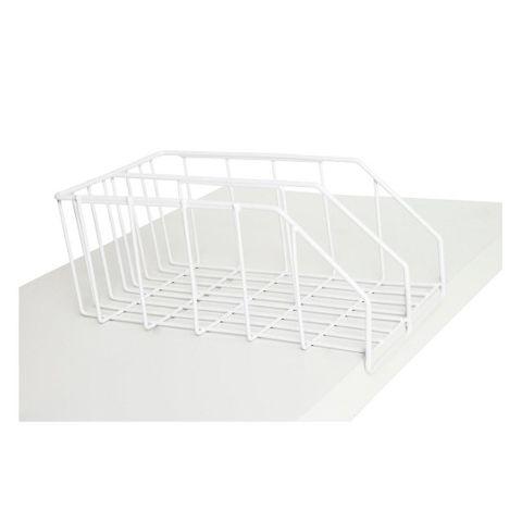 Desktop White File Rack 210 x 370 mm, White