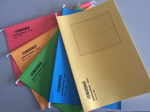 Suspension File, c/w tabs & inserts. pk25 A4