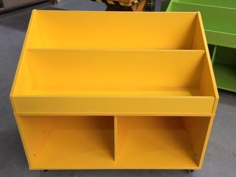 Mobile Book Box Unit L1100 x H950 x D600mm