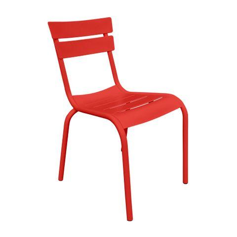 Porto outdoor aluminium chair no arms