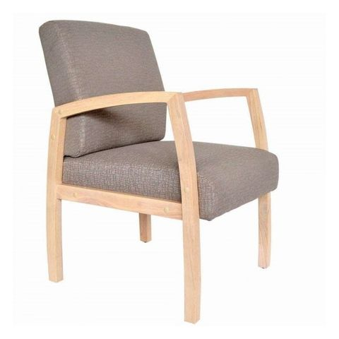 Bella Mid Back Open sided Guest Chair. F: Gravel 160kg
