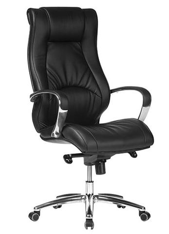 Camry High Back Exec Chair Black PU 120kg