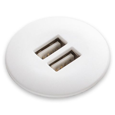 Atom USB charging module 2 x 3A