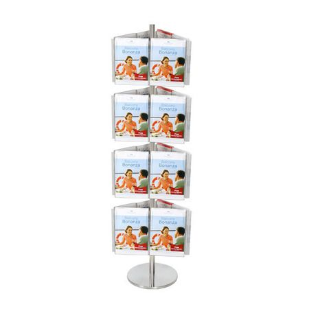 Carousel 4 tier Spinner incl 24 x A4 brochure holders