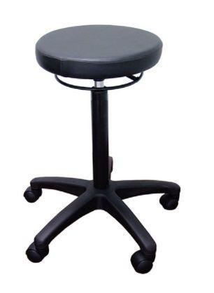 Hamilton Drafting stool, No footring 140 gas F4