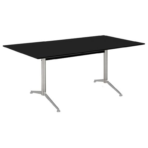 Stan table frame twin-ped straight leg L2201-2550xD700-900