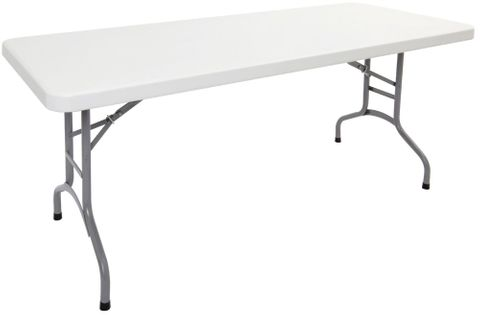 Poly Folding Table 1800Wx750Dx72H