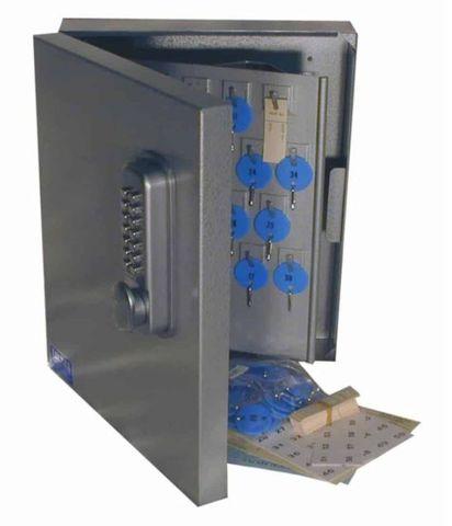 Key cabinet 347 x 300 x 80mm 60 keys Mech keypad