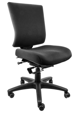 Aspire MB Fabric Back Chair No Arm 135kg