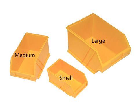 Parts Bin Small H85xW100xD172mm Plastic